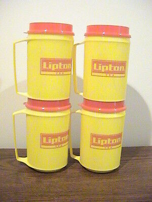 Lipton Tea Travel Cups Set of 4