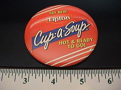 Lipton Cup A Soup Pin Back Button