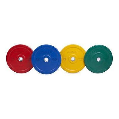 CAP Barbell Rubber Olympic Bumper Plate, Single | weight: 10 lbs