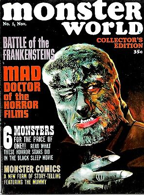 Warren Magazine Famous Monsters - Monster World #1 Collectors Edition Ex Cond