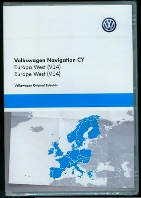 VW RNS Continental RNS 510 810 CY V14 Europa Europe West 2016 2017 DVD