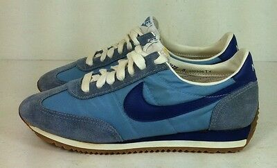 timeless design 78244 10838 ... netherlands rare vintage nike cortez trainer shoes 1981 sneakers blue  womens sz 8 31ab3 3babd ...