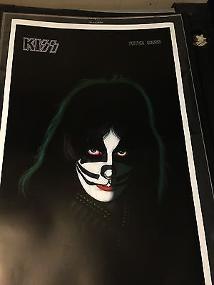 New Kiss Peter Criss Poster!! New Reproduction Poster. 24x36