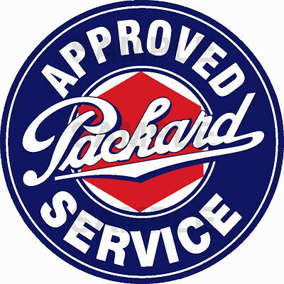 3 Inch Packard Service Decal Sticker Several Sizes Available