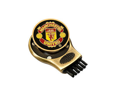 Manchester United Golf Club Groove Cleaner & Ball Marker  Licensed Product