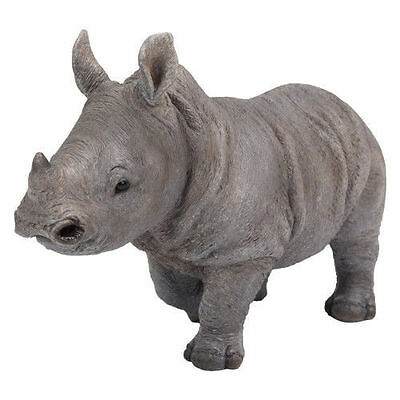 Vivid Arts Pet Pals Baby Rhino Rhinoceros Resin Ornament