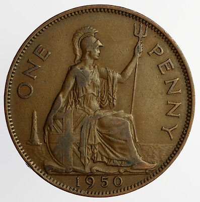1950 One Penny George VI