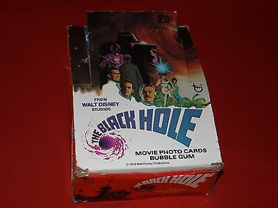 The Black Hole Movie Photo Cards-Full Box Of 36 Packs-Topps Cards 1979-Good