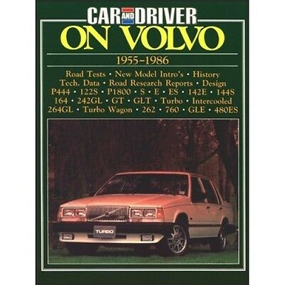 Car and Driver On Volvo 1955-1986 book paper