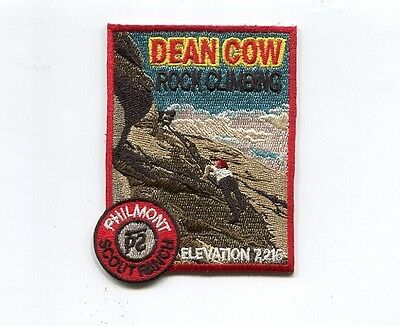 Patch From Philmont Scout Ranch-Outpost Camp- Dean Cow- Rock Climbing