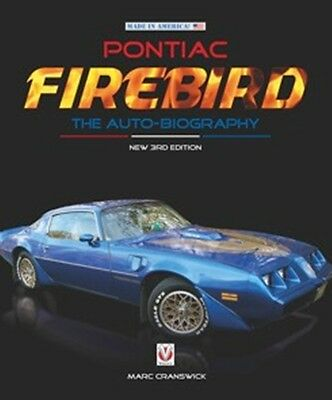 Pontiac Firebird The Auto-Biography New 3rd Edition book paper
