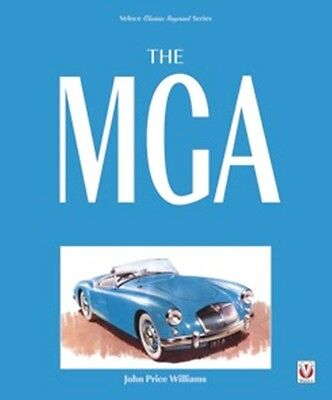 The MGA - Revised Paperback Edition  book paper car