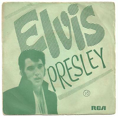 Elvis Presley scarce PS single from India......Easy come, easy go.