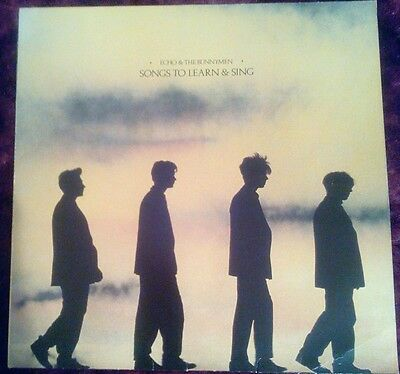 """ECHO and & THE BUNNYMEN - Songs To Learn and Sing - Vinyl LP 12"""" Album"""