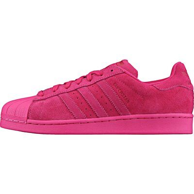 Adidas Originals Superstar Adicolor Men's Shoes AQ4166 Suede Equity Pink NEW