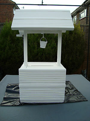 Wedding wishing well for sale free postage 80 cm plus high