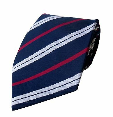 Royal Corps Of Transport Regimental Striped Tie Regiment RCT