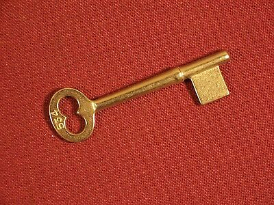 Skeleton Bit Key Vintage / Antique Lock Key Mortise Lock Doors Uncut ab26