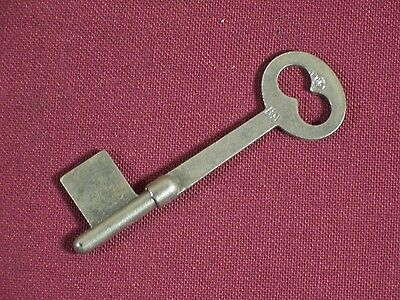 Skeleton Bit Key Vintage / Antique Lock Key Mortise Lock Doors Uncut ab210