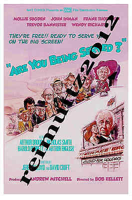 Are You Being Served - New collectable film poster postcard