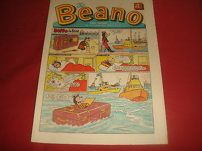 THE BEANO COMIC #1411  August 2nd 1969 VGC Silver Age Sixties