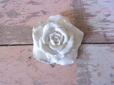 SHABBY n CHIC FURNITURE APPLIQUES * ROSE * FLEXIBLE * PAINTABLE * STAINABLE