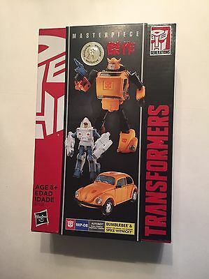 Transformers Masterpiece Bumblebee Autobot & Spike Brand New Sealed Hasbro