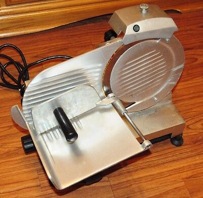 Meat Slicer Globe Chefmate GC 9 Works / Runs Great! Ready To Go! Heavy Duty