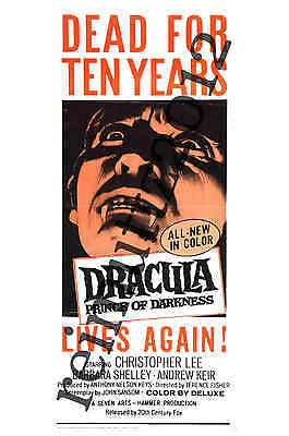 Dracula Prince Of Darkness - Hammer - New collectable film poster postcard 3 (B)