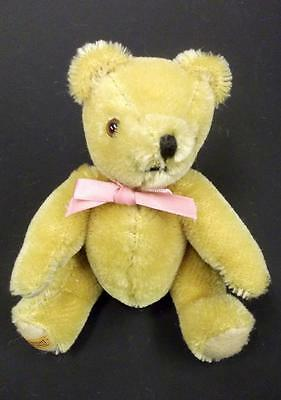 "Vintage Merrythought Miniature 6"" Gold Mohair Collectors Teddy Bear"
