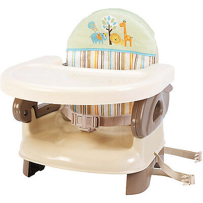 Summer Infant Deluxe Comfort Folding Booster Seat 2 level height adjustment