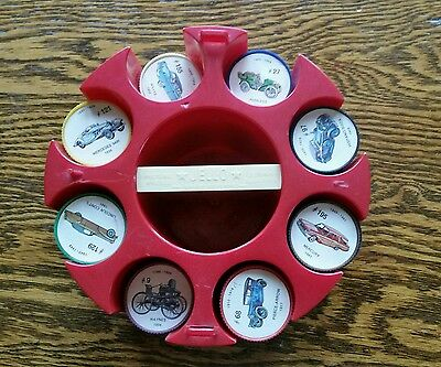 Vintage Jell-O Pictures Wheels antique car Coins