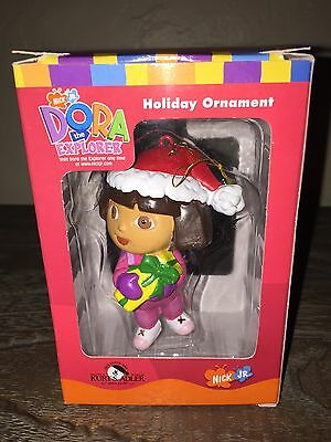 Nick Jr DORA THE EXPLORER Christmas Ornament 2003