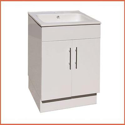 Ceramic Top Laundry Tub With Polyurethane Cabinet