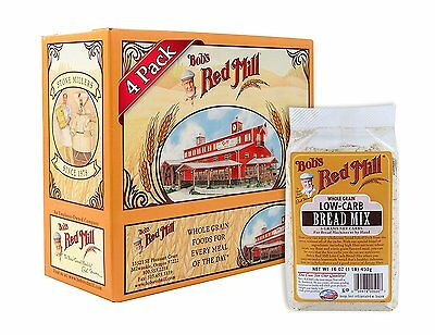 Bobs Red Mill Low-Carb Bread Mix, 16 Ounce Packages...