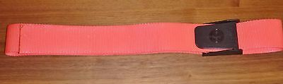 Diving Scuba Weight Belt 50mm Webbing Quick Release Nylon Buckle Fluro Pink