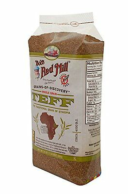 Bobs Red Mill Whole Grain Teff, 24 Ounce Packages ...