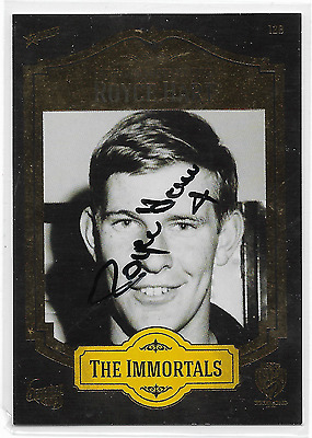 2013 Richmond The Immortals (128) Royce HART Hand Signed