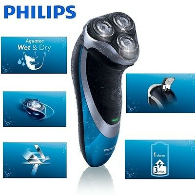 Philips AquaTouch AT890 Cordless Shaver + Pop Up Trimmer (UK STOCK) FBA1