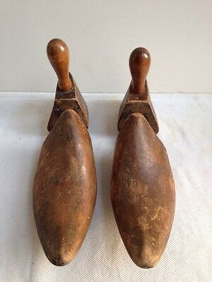 Vintage SOROSIS wooden shoe stretchers