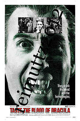 Taste The Blood Of Dracula - Hammer - New collectable film poster postcard 1 (B)