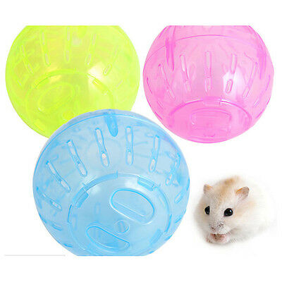 Gerbil Rat Jogging Small Ball Toy Pet Rodent  Mice Hamster Exercise Plastic BE