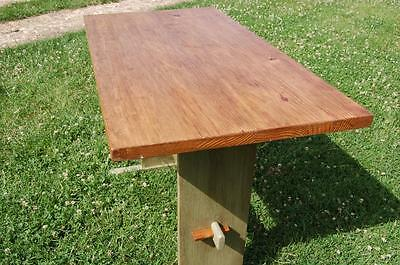 Delightful Solid Pine Kitchen Table - Annie Sloan - Upcycled - Shabby Chic