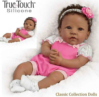 "Ashton Drake ""ABIGAIL""-LIFELIKE WEIGHTED BABY DOLL WITH CHICK -NEW-IN STOCK NOW"