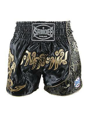 Sandee Unbreakable White/Blue/Red/Grey Muay Thai Kick Boxing Shorts