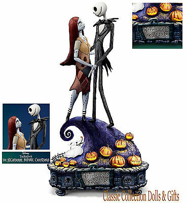 "Tim Burton's Nightmare Before Christmas""simply Meant To Be"" Disney Music Box-New"