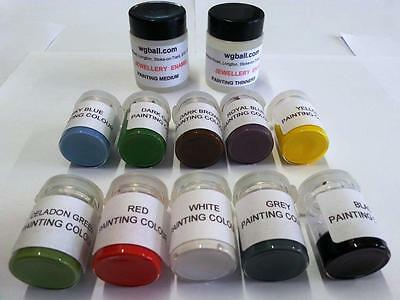 W.G Ball Lead Free Enamel Painting Colours Set (Perfect for Hand Painting)