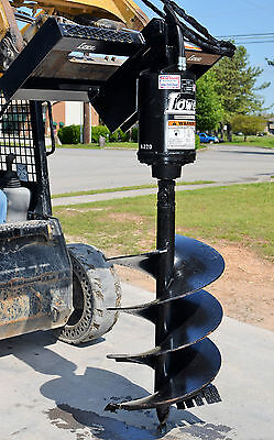 "Bobcat Skid Steer Attachment Lowe BP210 Hex Auger Drive with 24"" Bit -Ship $199"