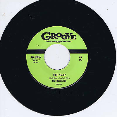 THE DU DROPPERS - BOOT 'EM UP / SPEED KING (Fabulous 50s Rockin' R&B Group JIVER