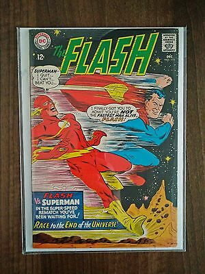 The Flash #175 - Superman vs. Flash Race - December 1967 - VF/NM